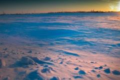 Sunrise-snow